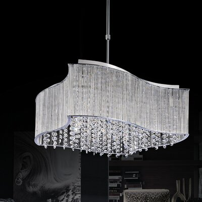 Elsa 10-Light Crystal Chandelier