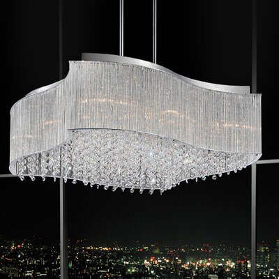 Elsa 12-Light Crystal Chandelier