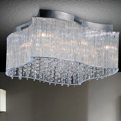 Elsa 10-Light Flush Mount