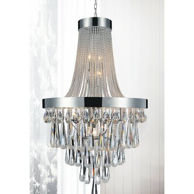 Vast 13-Light Empire Chandelier Crystal Color: Clear