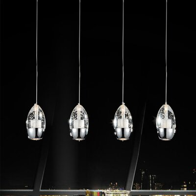 Perrier 4-Light Kitchen Island Pendant