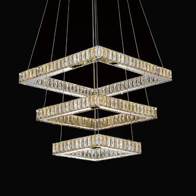 Florence Crystal Chandelier Crystal Color: Cognac