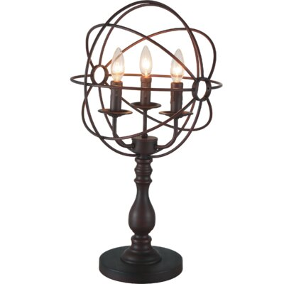 Bird Cage 3-Light 25 Table Lamp