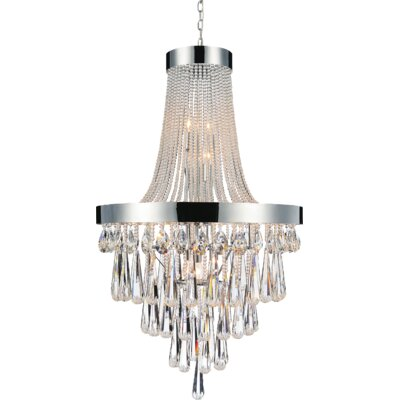 Vast 17-Light Empire Chandelier Crystal Color: Clear