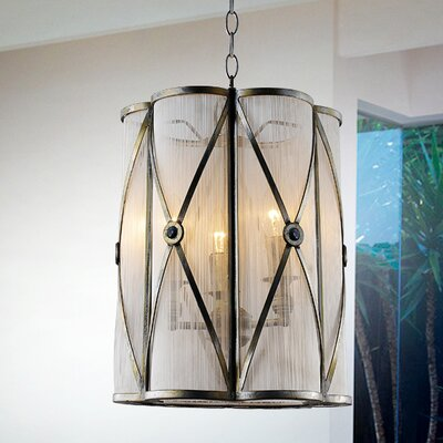 Diana 3-Light Foyer Pendant