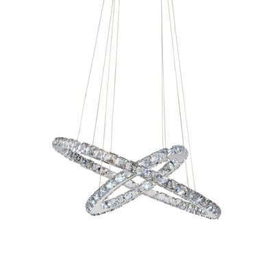 Ring 15-Light Crystal Chandelier
