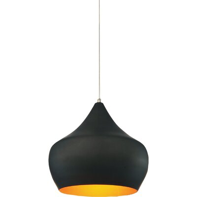 Dynamic 1-Light Bowl Pendant