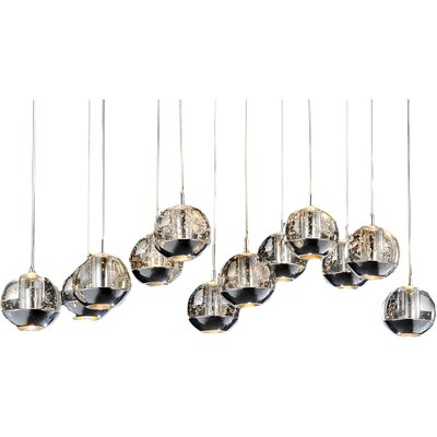 Perrier 12-Light Cascade Pendant