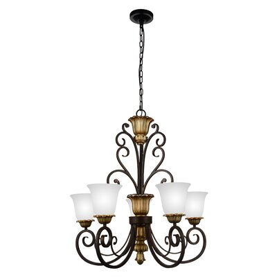 Presley 5-Light Shaded Chandelier