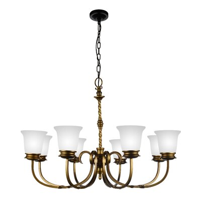 Reese 8-Light Shaded Chandelier