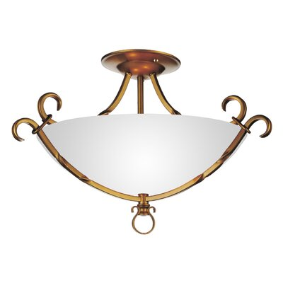 Reese 3-Light Semi Flush Mount