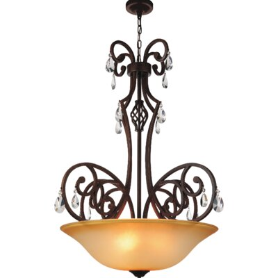 Shakira 5-Light Bowl Pendant