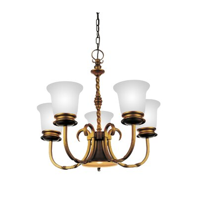Reese 5-Light Shaded Chandelier