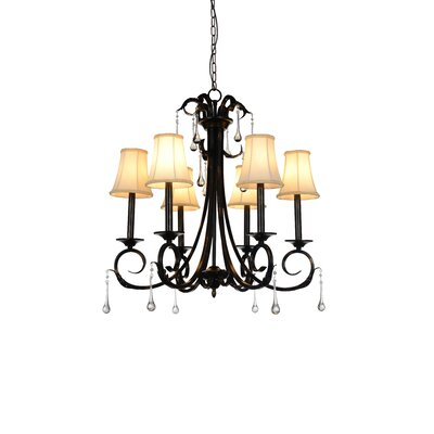 Marilyn 6-Light Shaded Chandelier