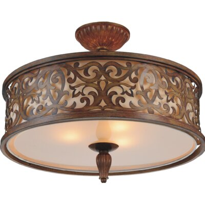 Nicole 5-Light Semi Flush Mount