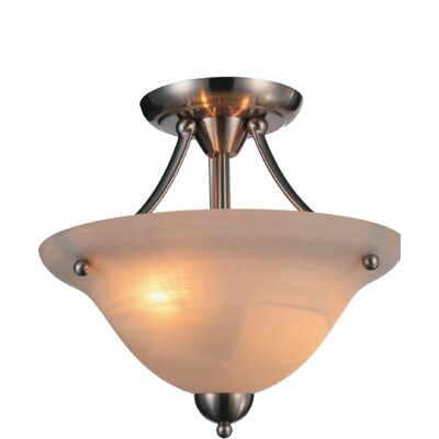 Cosmo 2-Light Semi Flush Mount