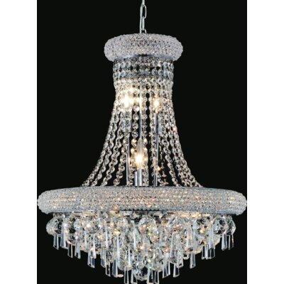 Kingdom 17-Light Crystal Pendant