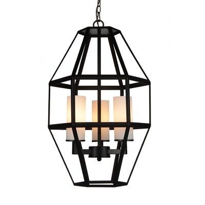 Cell 3-Light Foyer Pendant