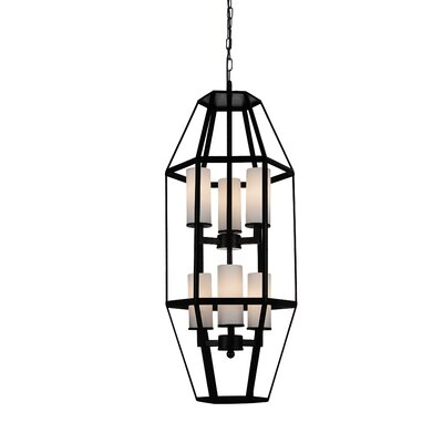 Cell 6-Light Foyer Pendant