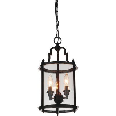 Desire 3-Light Foyer Pendant