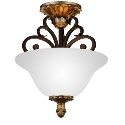 Presley 2-Light Semi Flush Mount