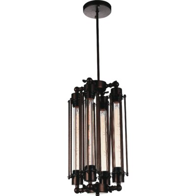 Kiera 4-Light Mini Pendant Finish: Chocolate