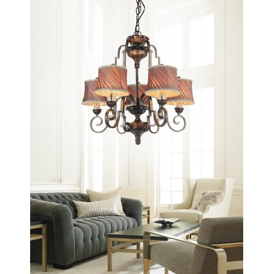Rogue 5-Light Shaded Chandelier