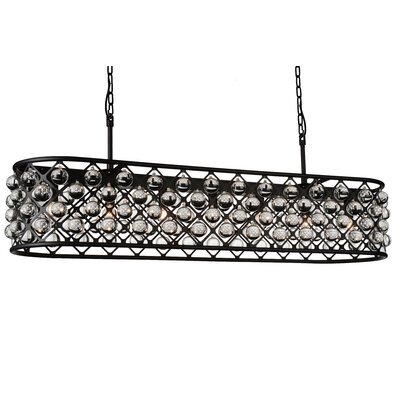 Barker 8-Light Crystal Chandelier