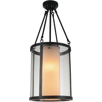 Danielle 2-Light Drum Pendant Size: 31 H x 12 W x 12 D