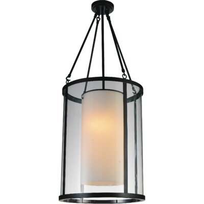 Danielle 2-Light Foyer Pendant Size: 115 H x 16 W x 16 D
