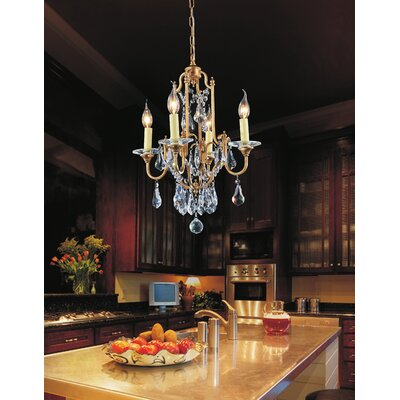 Electra 4-Light Candle-Style Chandelier