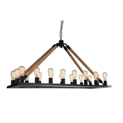 Farley 18-Light LED Candle-Style Chandelier