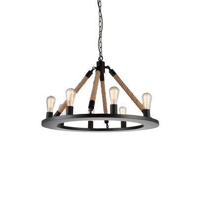 Inyo 8-Light Candle LED Style Chandelier