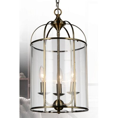 Kalu 3-Light LED Foyer Pendant