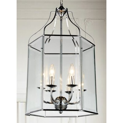 Maury 6-Light LED Foyer Pendant