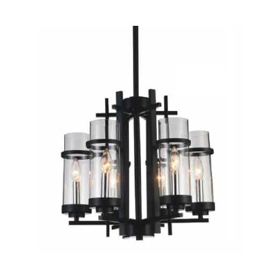 Sierra 6-Light LED Candle-Style Chandelier Size: 89 H x 18 W x 18 D