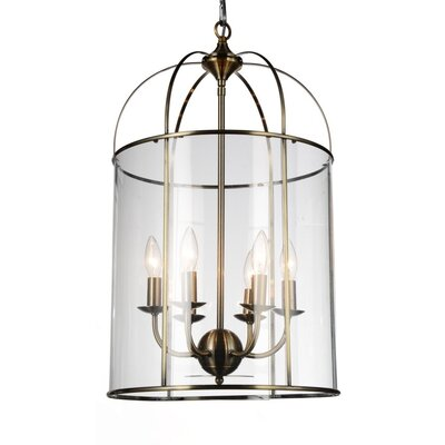Kalu 6-Light LED Foyer Pendant