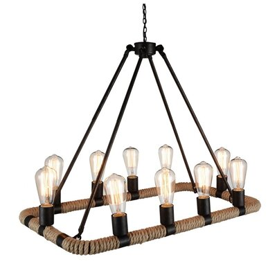 Inyo 10-Light Candle-Style Chandelier