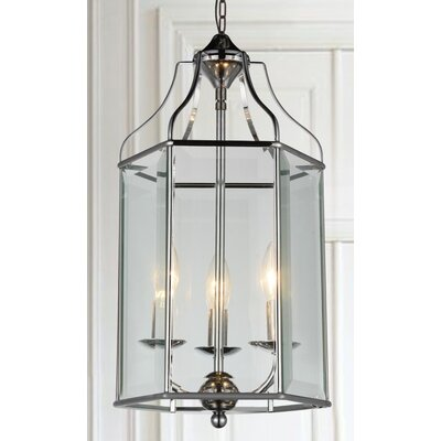 Maury 3-Light LED Foyer Pendant