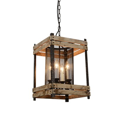 Verda 4-Light LED Foyer Pendant