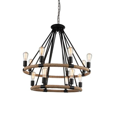 Farley 14-Light LED Candle-Style Chandelier