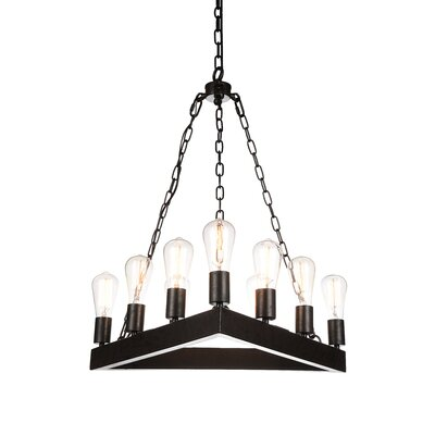 Teesta 9-Light LED Candle-Style Chandelier