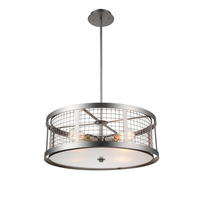 Manito 4-Light Drum Pendant