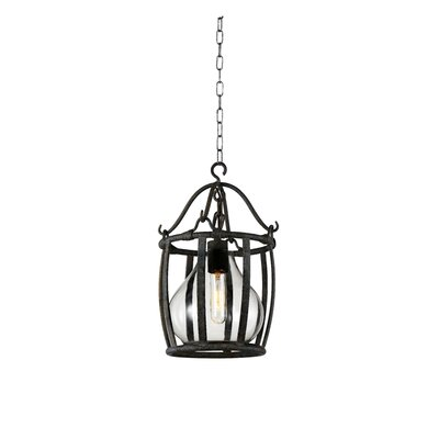 Eliza 1-Light Mini Pendant Size: 87 H x 12 W x 12 D