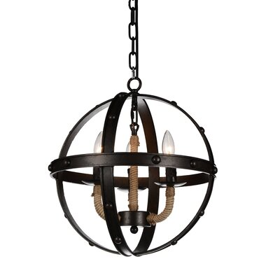 Cicero 3-Light Foyer Pendant