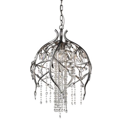 Hal 6-Light Crystal Pendant