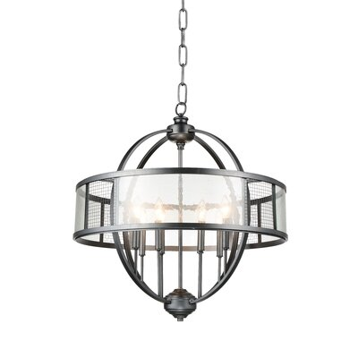 Quinn 8-Light Drum Pendant