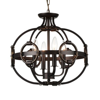 Vernal 4-Light Globe Pendant