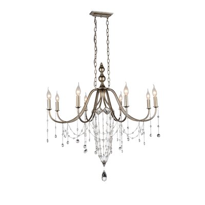 Pembina 8-Light Candle-Style Chandelier