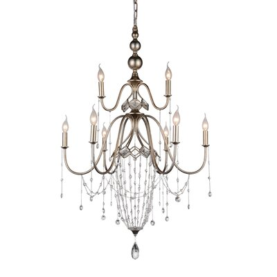 Pembina 9-Light Candle-Style Chandelier